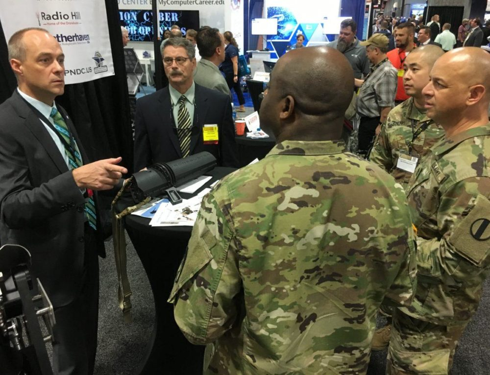 Radio Hill makes debut at AUSA in Washington DC